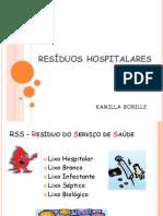 RESÍDUOS HOSPITALARES