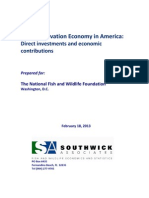 The Conservation Economy In America