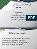 Ejemplos de Metodos de Indirectos de Medicion de Nivel