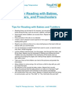 TinyEYE.com-Reading With Babies, Toddlers and Preschoolers