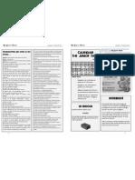 TJT Nº 141 - Página 1 (Historia Padrenuestro) y Página 2 (Calendario y colaboradores)