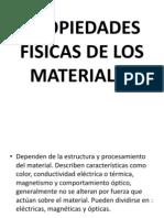 tecnologia de materiales propiedades EXPOSICIÓN