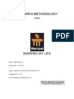 MB0050 Research Methodology Set 01