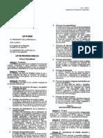 Ley de Recursos Hidricos Ley Nº 29338