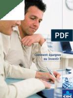 SPB DRP BRO Comment Epargner Ou Investir