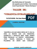 Taller de Violencia - Acarigua Repuesto