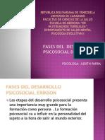 Erikson y Las Etapas Psicosociales