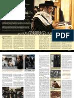 Mishpacha Article of Satmar Rebbe