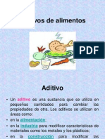 Aditivos Alimentos Mery
