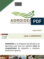 AGROIDEAS - Presentación General 2013