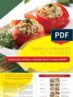 Salsas Frias Recetario