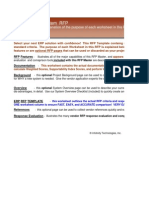Discrete Repetitive Manufacturing ERP Software System RFP Template 05-08-13