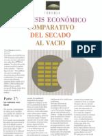 Analisis Economico Secado Al Vacio