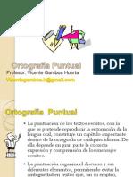 Ortografía Puntual Lenguaje y Comunicación 2013