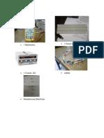 materiales procedimiento simu