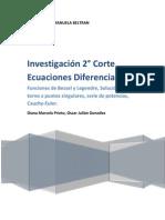 Ecuaciones Diferenciales 2 Corte