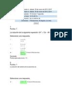 Quiz 1 Algebra, Trigonometria y Geometria Analitica