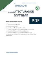 Unidad III Arquitecturas de Software PHN