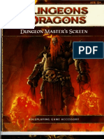 4e d&d 4th Edition Dm Screen