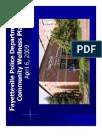 Community Wellness Plan Presentation Power Point