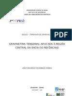 Joao-Mauricio gravimetría tensorial