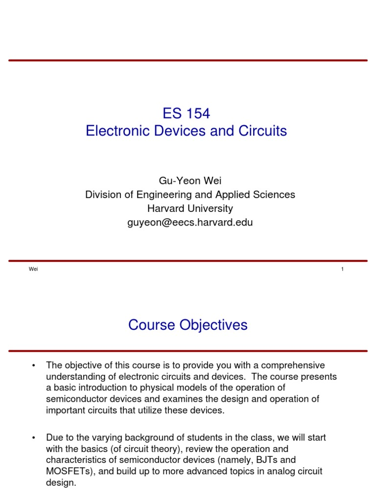 Electronics An Introduction Transistor Mosfet Understand Basic Circuit Theory Designing Electronic Circuits
