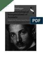 Heidegger - GA 61 - Phenomenological Interpretations of Aristotle