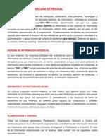Sistema de información gerencial  1.  PARA LEER EN CLASE