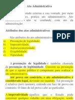 Resumo - Ato Administrativo - Direito Administrativo