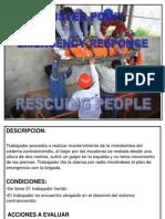 Simulacro de Rescate de Personas