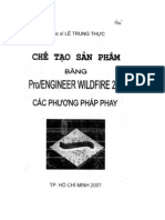 Cac Chien Luoc Chay Dao Trong Pro-Engineer Wildfire 2.0