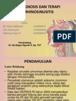 Diagnosis Dan Terapi Rhinosinusitis