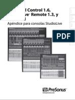 UniversalControl 1.6 Addendum ES