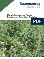 EMBRAPA - Manejo Integrado de Plantas Invasoras na Agricultura Orgânica
