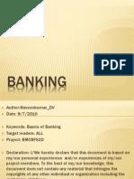 Banking Terms and Basics