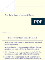 05.the Behaviour of Interest Rates