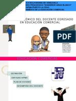 Perfil Del Docente Educ. Comercial 12456