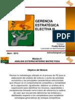 Gerencia Estratégica - Electiva III 2013-I