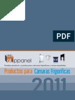 Catalogo Productos Para Camaras Frigorificas
