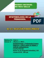 EPISTEMOLOGÍA DE LA PEDAGOGÍA.