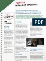 HPC Pixar Datasheet