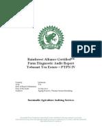 RA SAAS Diagnostic Audit Report Tea Estate Tobasari 2010 Without Buyers' Details
