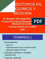 Radioisotopos en Bioquimica y Medicina