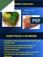 nutricion acido folico