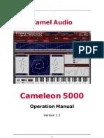 Cameleon 5000 Manual