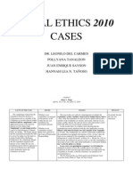 Legal Ethics 2010 Cases