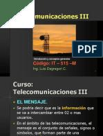 Curso Telecom III 2013-Señal, Ruido