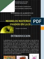 Modelos Matematicos Usados en La d.o - Kristoper Garcia Mendo