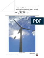 Investigation of 2D Airfoils Equipped With a Trailing Edge Flaps MSc in Wind Energy