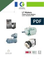 Flame Proof Motors (LV)English